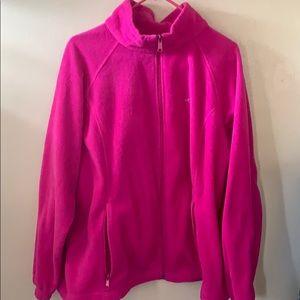 Columbia Zip-Up Fleece-Plus Size